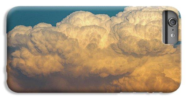 Nebraskasc iPhone 6 Plus Case - Nebraska Sunset Thunderheads 053 by NebraskaSC