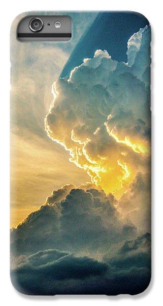 Nebraskasc iPhone 6 Plus Case - Nebraska Sunset Thunderheads 075 by NebraskaSC