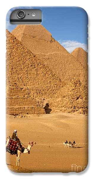 Africa iPhone 6 Plus Case - Pyramid Egypt by Sculpies