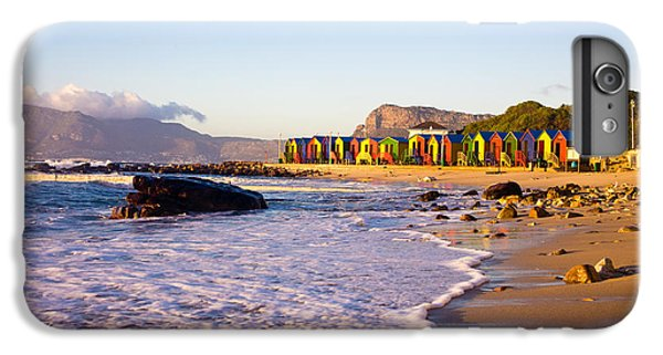 Africa iPhone 6 Plus Case - St James Beach With Its Colorful by Andrea Willmore