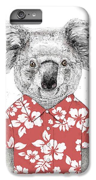Nature iPhone 6 Plus Case - Summer Koala by Balazs Solti