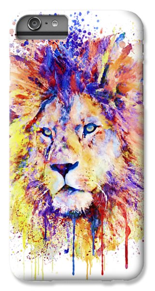 Lion Head iPhone 6 Plus Case - The New King by Marian Voicu