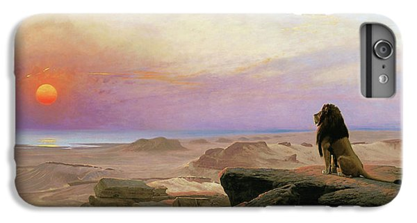 Barren iPhone 6 Plus Case - The Two Majesties - Digital Remastered Edition by Jean-Leon Gerome