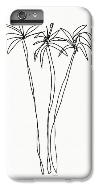 Nature iPhone 6 Plus Case - Three Tall Palm Trees- Art By Linda Woods by Linda Woods