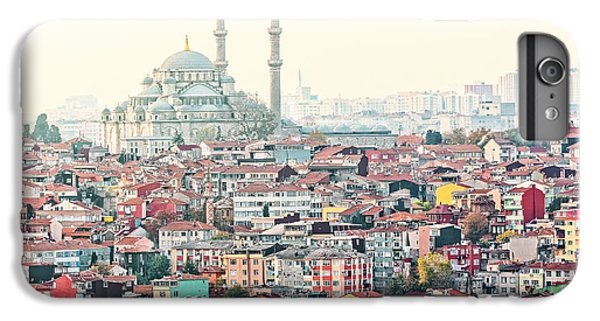 Building iPhone 6 Plus Case - View Over Istanbuls Dense Residential by Stefan Holm