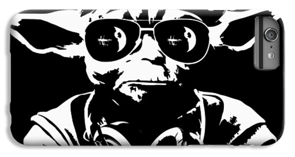 Han Solo iPhone 6 Plus Case - Yoda Parody - Only Once You Live by Filip Hellman