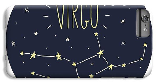 Lion iPhone 6 Plus Case - Zodiac Signs Doodle Set - Virgo by Radiocat