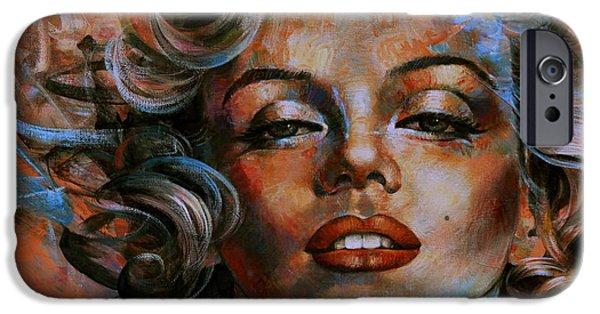 Marilyn Monroe IPhone 6s Case by Arthur Braginsky