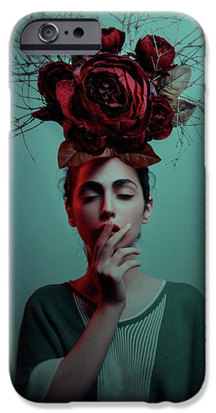 Teal iPhone 6s Case - ... by Amin Hamidnezhad