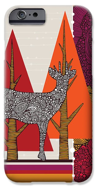 A Deer In Woodland IPhone 6s Case