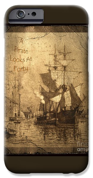 Parrot iPhone 6s Case - A Pirate Looks At Forty by John Stephens