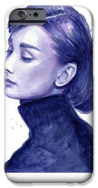 Audrey Hepburn Portrait IPhone 6s Case