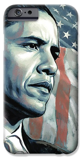 Barack Obama Artwork 2 IPhone 6s Case