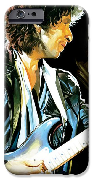 Bob Dylan Artwork 2 IPhone 6s Case by Sheraz A