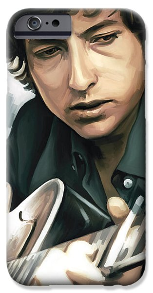 Bob Dylan Artwork IPhone 6s Case