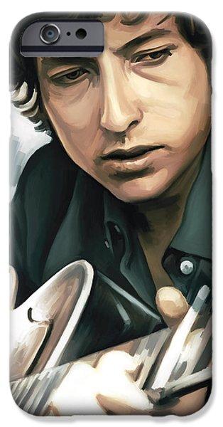 Bob Dylan Artwork IPhone 6s Case by Sheraz A