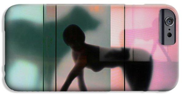 Teal iPhone 6s Case - Body Language 23 by Igor Shrayer