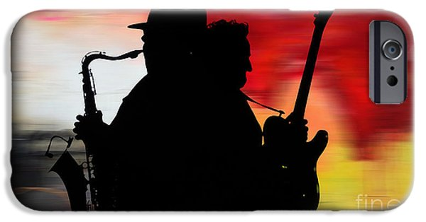 Bruce Springsteen Clarence Clemons IPhone 6s Case by Marvin Blaine