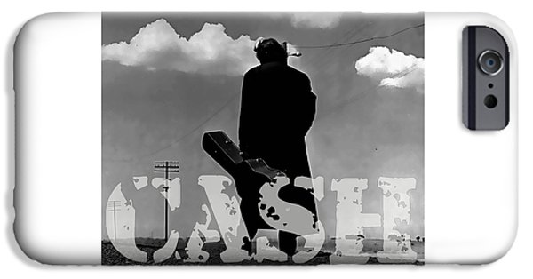 Johnny Cash IPhone 6s Case by Marvin Blaine