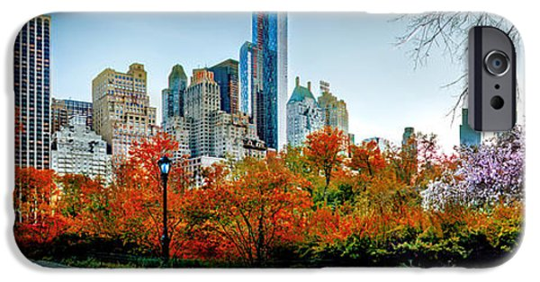 New York City Skyline iPhone 6s Case - Changing Of The Seasons by Az Jackson
