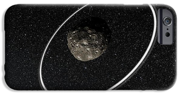Chariklo Minor Planet And Rings IPhone 6s Case by European Southern Observatory
