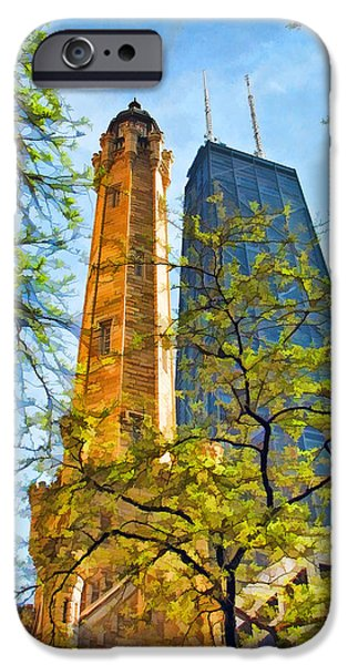 Chicago Water And Hancock Towers IPhone 6s Case by Christopher Arndt
