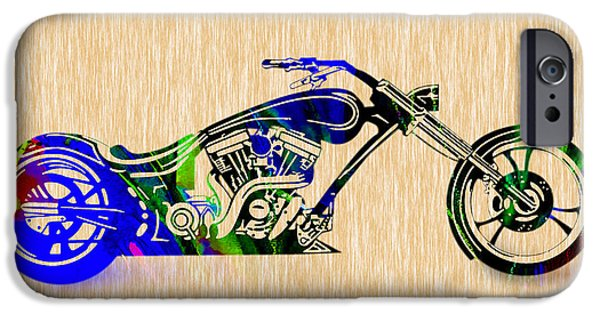 Chopper Painting. IPhone 6s Case by Marvin Blaine