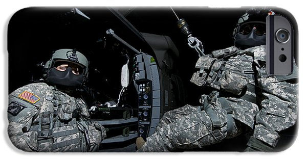 Crew Chief Sits In The Doorway IPhone Case by Terry Moore