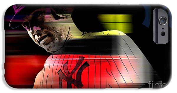 Derek Jeter IPhone 6s Case by Marvin Blaine