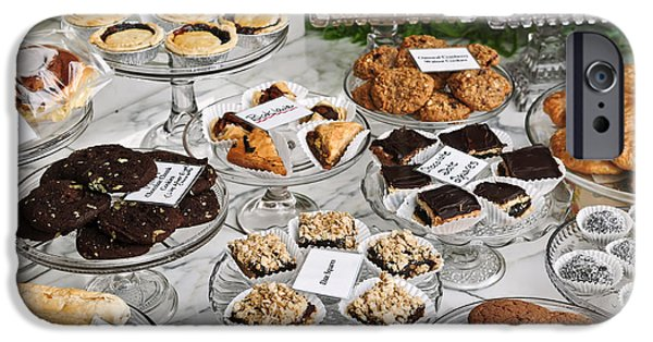 Desserts In Bakery Window IPhone Case by Elena Elisseeva