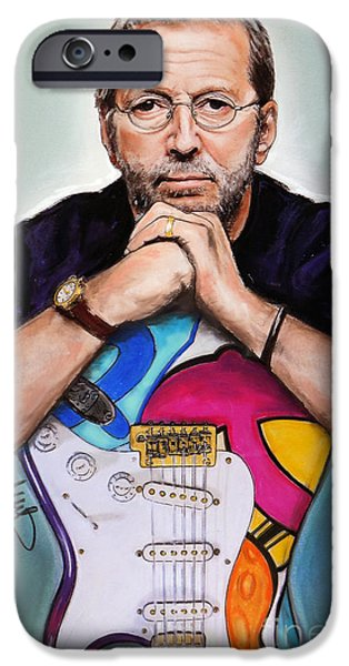 Eric Clapton IPhone 6s Case by Melanie D