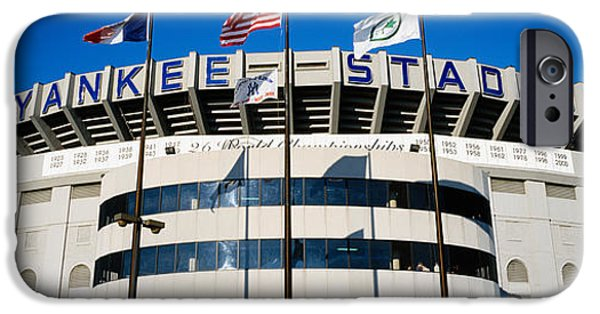 Flags In Front Of A Stadium, Yankee IPhone 6s Case by Panoramic Images