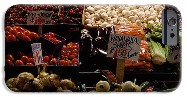 Fruits And Vegetables At A Market IPhone 6s Case by Panoramic Images
