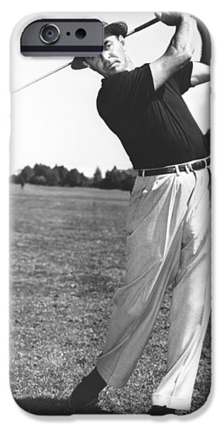 Golfer Sam Snead IPhone 6s Case by Underwood Archives