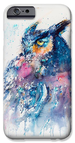 Great Horned Owl IPhone 6s Case by Kovacs Anna Brigitta