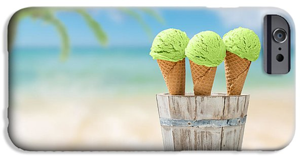 Kiwi iPhone 6s Case - Ice Creams  by Amanda Elwell