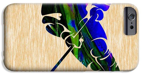 Ice Hockey IPhone 6s Case by Marvin Blaine