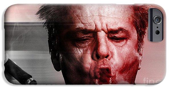 Jack Nicholson IPhone 6s Case by Marvin Blaine