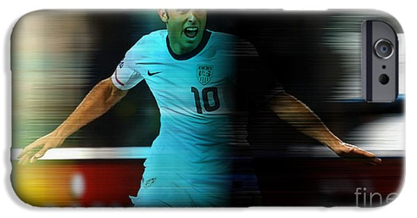 Landon Donovan IPhone 6s Case by Marvin Blaine