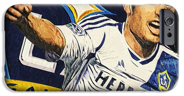 Landon Donovan IPhone 6s Case by Taylan Apukovska