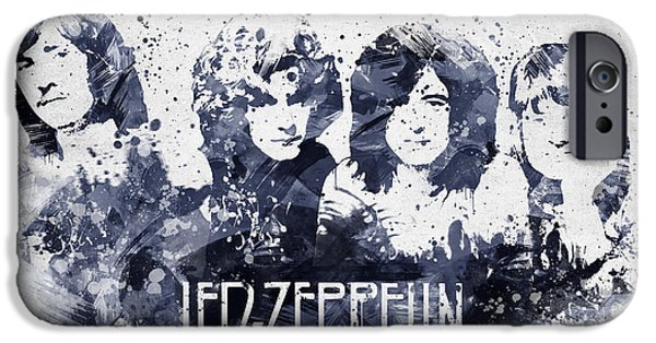 Led Zeppelin Portrait IPhone 6s Case by Aged Pixel