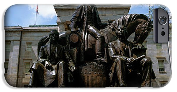 Low Angle View Of Statue IPhone 6s Case by Panoramic Images