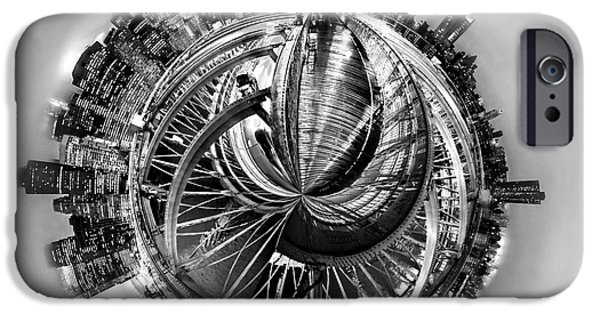 Brooklyn Bridge iPhone 6s Case - Manhattan World by Az Jackson