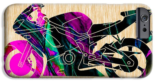 Ninja Bike Art IPhone 6s Case by Marvin Blaine