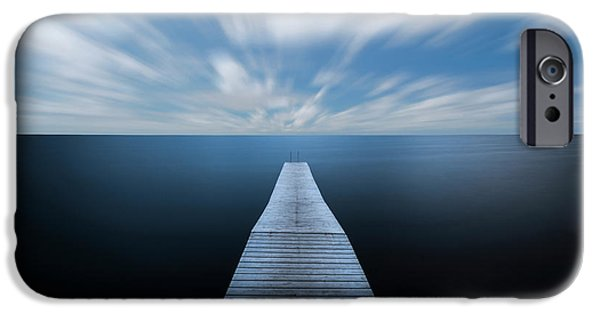 Simple iPhone 6s Case - On The Edge Of The World by Christian Lindsten