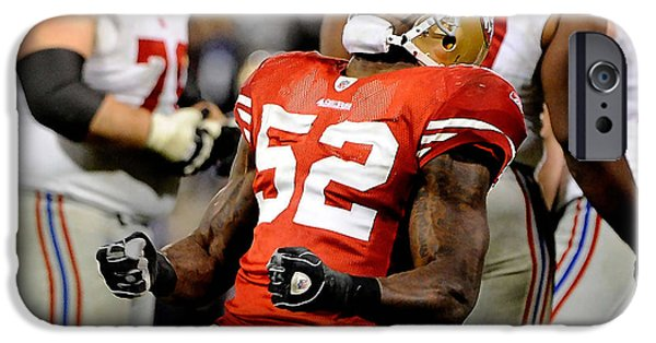Patrick Willis IPhone 6s Case by Marvin Blaine