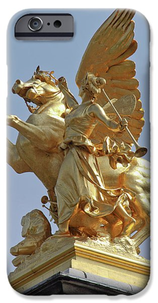 Pegasus Statue At The Pont Alexander IPhone 6s Case