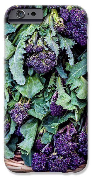 Purple Sprouting Broccoli IPhone 6s Case by Aberration Films Ltd
