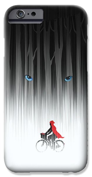 Fairy iPhone 6s Case - Red Riding Hood by Sassan Filsoof
