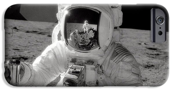 Astronauts iPhone 6s Case - Reflecting by Jon Neidert